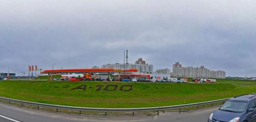 Панорама АЗС — А-100 — Минск, фото №1