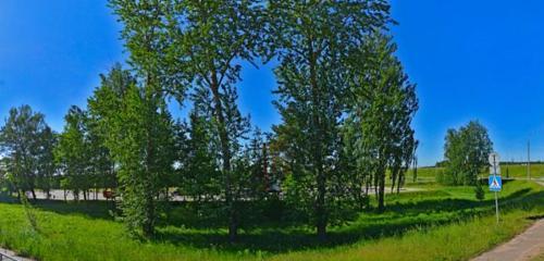 Панорама АЗС — А-100 — Минская область, фото №1