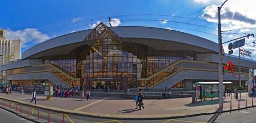 Панорама железнодорожный вокзал — Минск-Пассажирский — Минск, фото №1