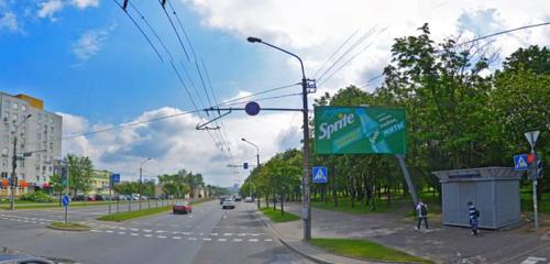 Панорама точка продажи прессы — Белсоюзпечать — Минск, фото №1