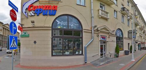 Панорама магазин рыбы и морепродуктов — Санта & Фиш — Минск, фото №1