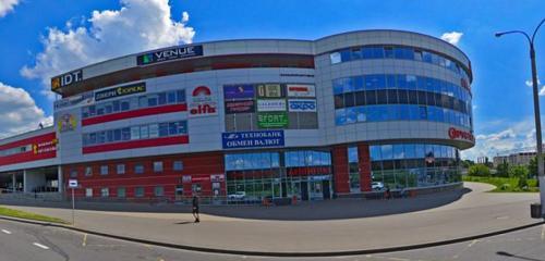 Панорама обмен валюты — Технобанк, пункт обмена валют — Минск, фото №1