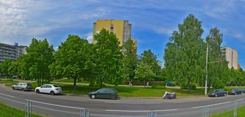 Панорама общежитие — Общежитие № 10, корпус № 1 МТЗ — Минск, фото №1