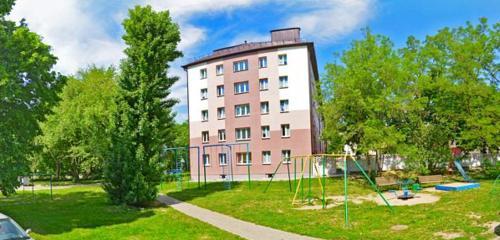 Панорама общежитие — Общежитие Мгптк монтажных и подъёмно-транспортных работ — Минск, фото №1