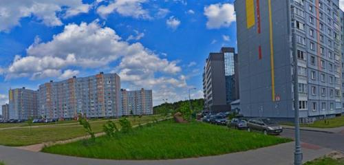 Панорама мемориальная доска, закладной камень — Закладной камень жилого квартала Магистр — Минск, фото №1