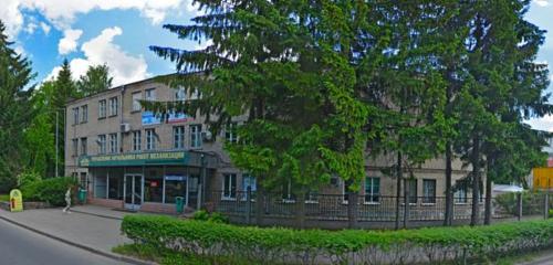 Панорама лестницы и лестничные ограждения — Лесопт — Минск, фото №1