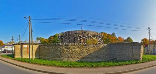 Панорама достопримечательность — Круглая рига — Гатчина, фото №1