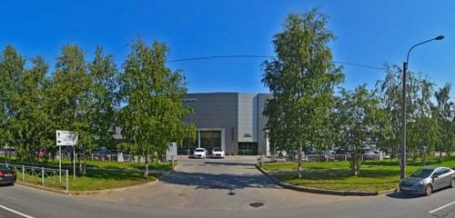 Панорама автосалон — Омега-Премиум, официальный дилер Jaguar Land Rover — Санкт-Петербург, фото №1