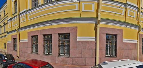 Панорама православный храм — Церковь святого Исидора Юрьевского — Санкт-Петербург, фото №1