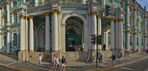 Панорама достопримечательность — Зимний дворец — Санкт-Петербург, фото №1