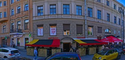 Панорама барбершоп — Central Barbershop — Санкт‑Петербург, фото №1