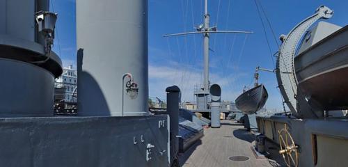 Panorama museum — Cruiser Aurora — Saint Petersburg, photo 1