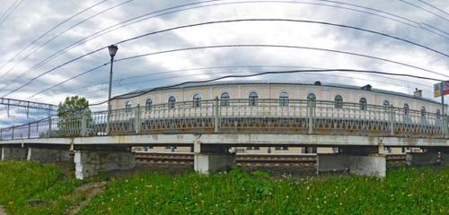 Panorama train station — Вокзал Любань — Lyuban, photo 1