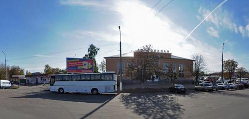 Панорама железнодорожный вокзал — Автовокзал Чернигов — Чернигов, фото №1