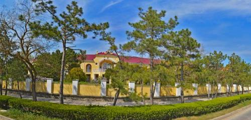 Панорама гостиница — Парк-отель Романова — Евпатория, фото №1