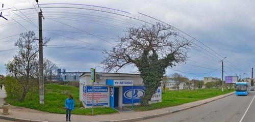 Панорама магазин автозапчастей и автотоваров — Лада Маркет — Севастополь, фото №1