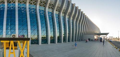 Panorama airport — Simferopol international airport — Republic of Crimea, photo 1