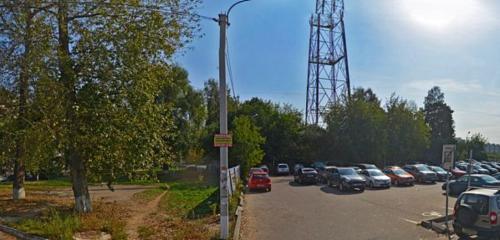 Панорама расчётно-кассовый центр — Мособлеирц, территориальное управление Клин Ко Клин — Клин, фото №1