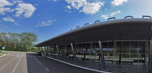 Панорама аеропорт — Міжнародний аеропорт Маріуполь — Донецька область, фото №1