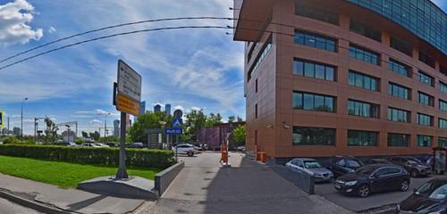 Панорама автомобильная парковка — Парковка — Москва, фото №1