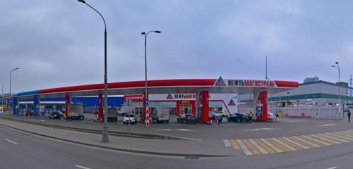 Панорама АЗС — Нефтьмагистраль — Москва, фото №1