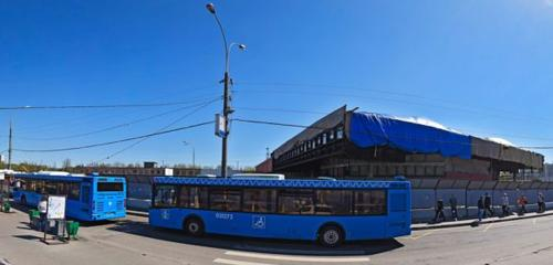 Panorama public transport stop — Станция Петровско-Разумовская — Moscow, photo 1