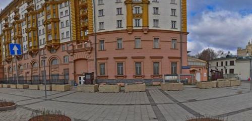 Панорама посольство, консульство — Посольство Соединенных Штатов Америки Консульский отдел — Москва, фото №1