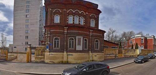 Panorama orthodox church — Ikony Bozhiyey Materi Vsekh Skorbyashchikh Radost Church — Moscow, photo 1