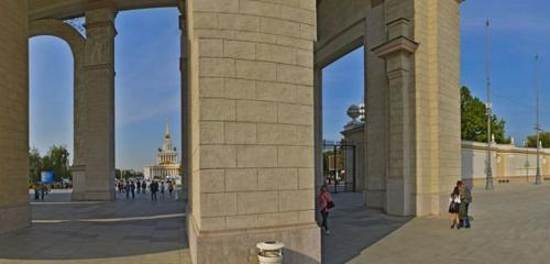 Panorama landmark, attraction — VDNKh Main Entrance — Moscow, photo 1