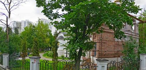 Панорама православный храм — Церковь Димитрия Донского — Москва, фото №1