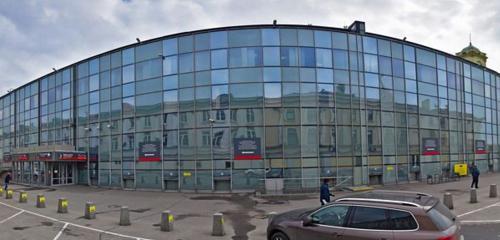 Панорама железнодорожный вокзал — Ленинградский вокзал — Москва, фото №1