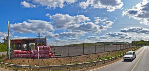 Панорама автомобильная парковка — Park Voyage Домодедово — Москва и Московская область, фото №1