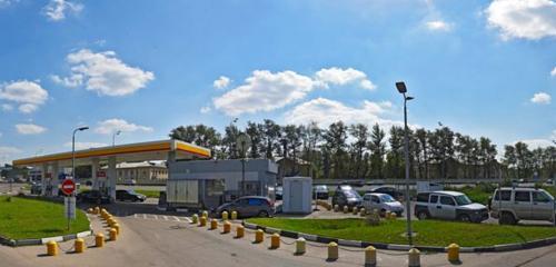 Panorama gas station — Shell — Balashiha, photo 1