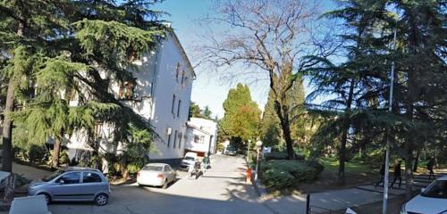 Панорама автомобильная парковка — Парковка Администрации города Сочи — Сочи, фото №1