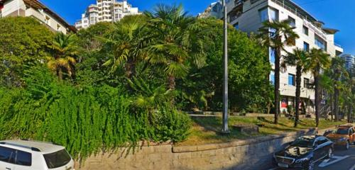 Панорама автомобильная парковка — Парковка — Сочи, фото №1