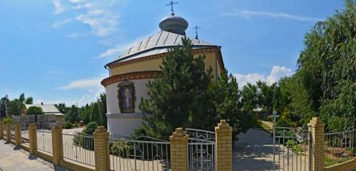 Панорама православный храм — Церковь Николая Чудотворца — Краснослободск, фото №1