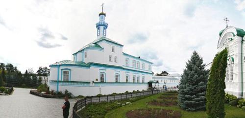 Панорама монастырь — Раифский Богородицкий мужской монастырь — Республика Татарстан, фото №1