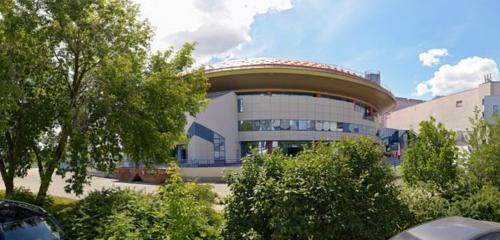 Панорама спортивный комплекс — Дворец игровых видов спорта — Екатеринбург, фото №1