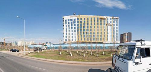 Панорама гостиница — Holiday Inn Express Astana - Turan — Нур-Султан, фото №1