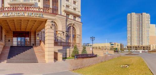 Панорама гостиница — Alanda Hotel — Нур-Султан, фото №1
