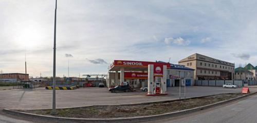Панорама АЗС — Sinooil — Нур-Султан, фото №1