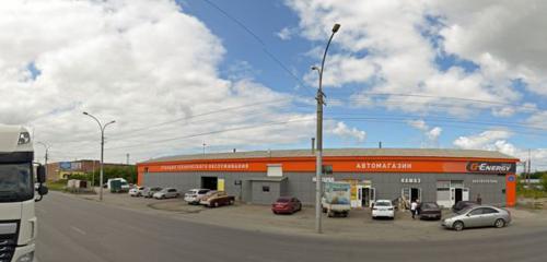 Панорама магазин автозапчастей и автотоваров — Ким-гараж — Новосибирск, фото №1