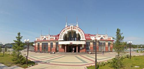 Panorama railroad station — Zheleznodorozhnaya stantsiya Seyatel — Novosibirsk, photo 1