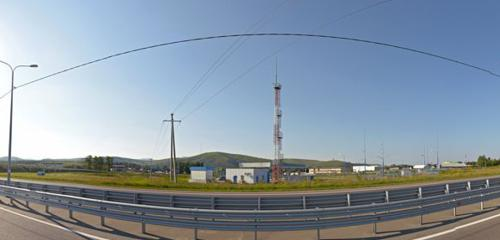 Панорама АГНС, АГЗС, АГНКС — Газпром газомоторное топливо, АГНКС — Республика Алтай, фото №1